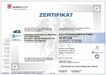 Zertifikat ISO 9001 Quality Austria